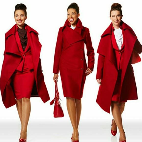 dae121f5c423df Genuine Virgin Atlantic vivienne Westwood Coat